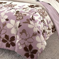 Marissa 3-piece Full/ Queen-size Mini Comforter Set - Thumbnail 1