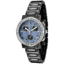 Invicta Women's Ceramics Black Ceramic Chronograph Watch
