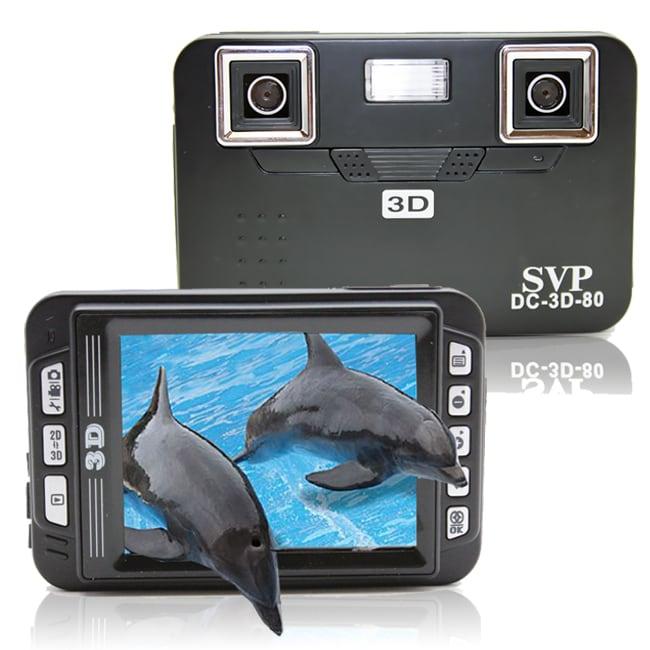 SVP DC-3D-80 Black 3D Digital Camera