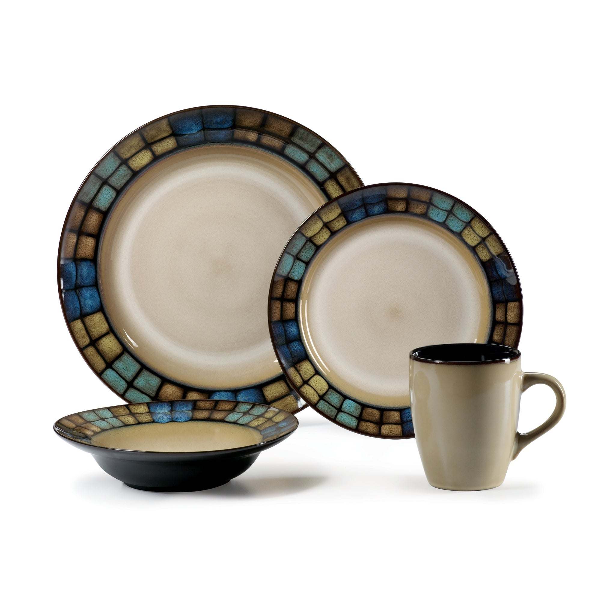 Shop Pfaltzgraff Laguna 16-piece Dinnerware Set - Free Shipping ...