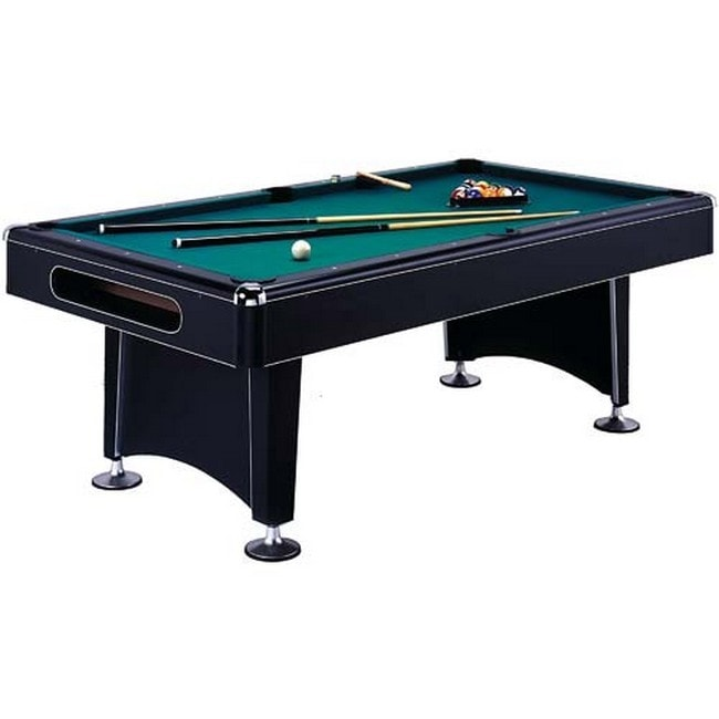 Imperial eliminator 7 ft non slate pool table with accessories free shipping today overstock - Billiard table accessories ...