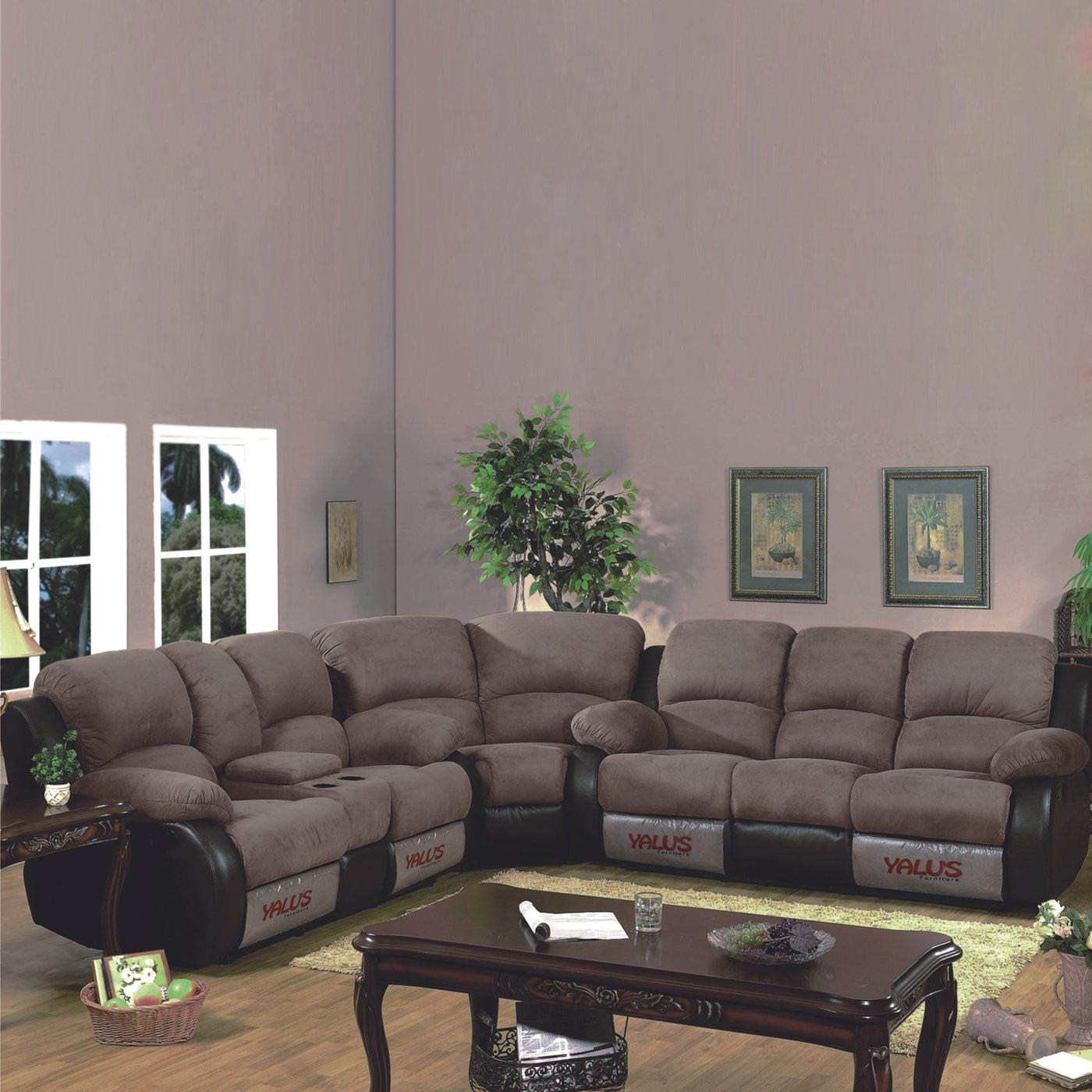 Manor Sectional Double Reclining Sofa Set Free Shipping Today
