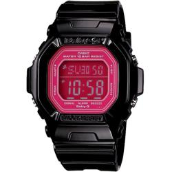 Casio Women's 'Baby-G' Square Black Digital Watch