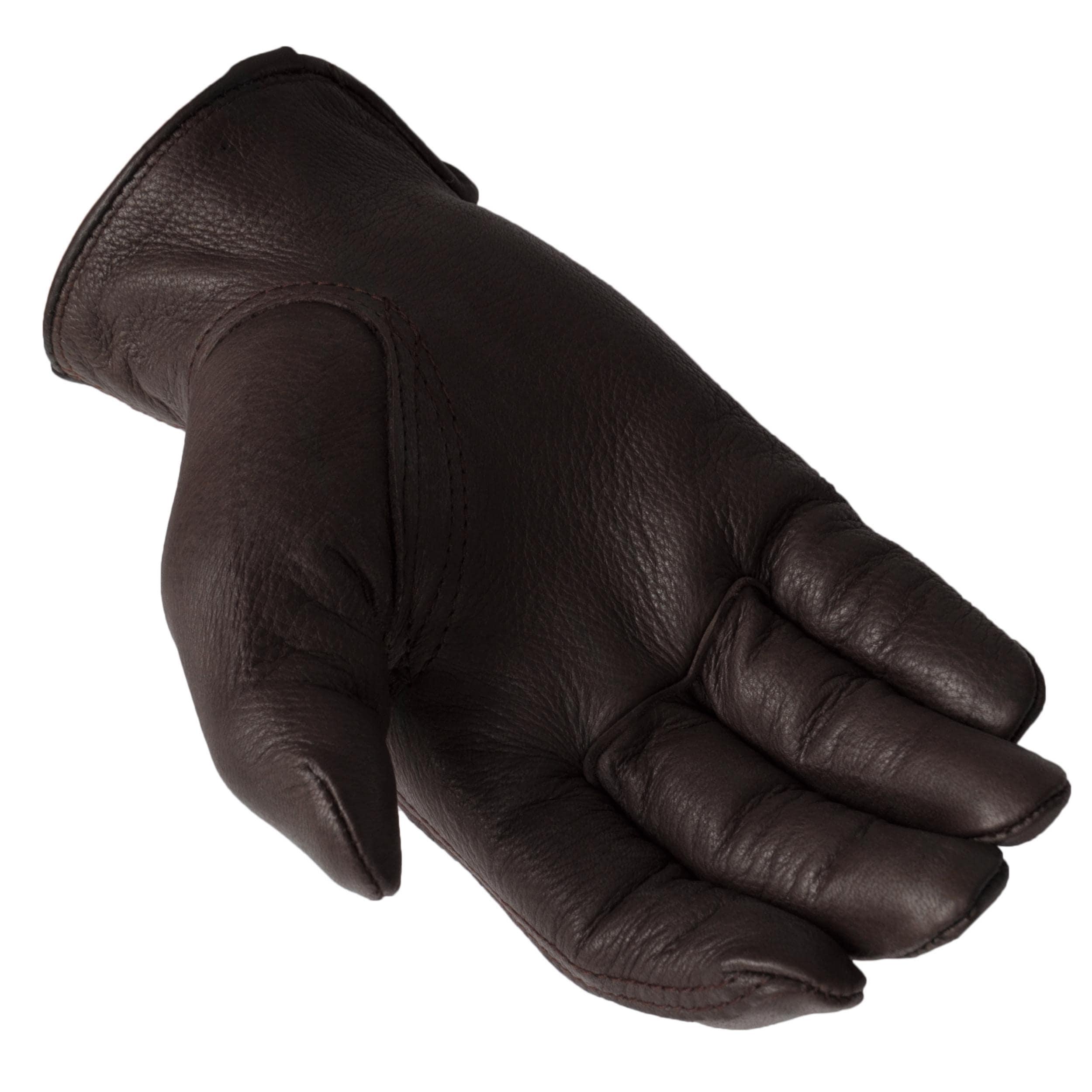 Daxx Men's Top Grain Deerskin Leather Bird Dog Wildlife Print Gloves - Thumbnail 1