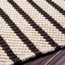 Country Living Hand-Woven Raina Striped Natural Fiber Jute Rug (8' x 10'6) - Thumbnail 1