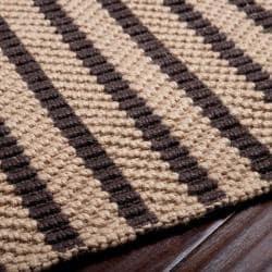 Country Living Hand-Woven Flynt Striped Natural Fiber Jute Rug (3'6 x 5'6) - Thumbnail 1