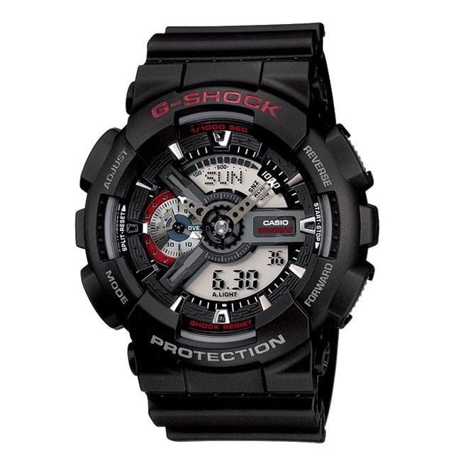 Casio Men's G-Shock 'XL Series' Analog-digital Black Watch