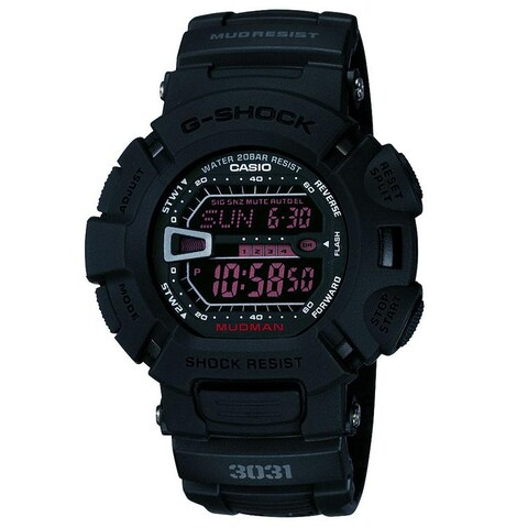 Casio Men's 'G-Shock' Military Concept Black Digital Watch