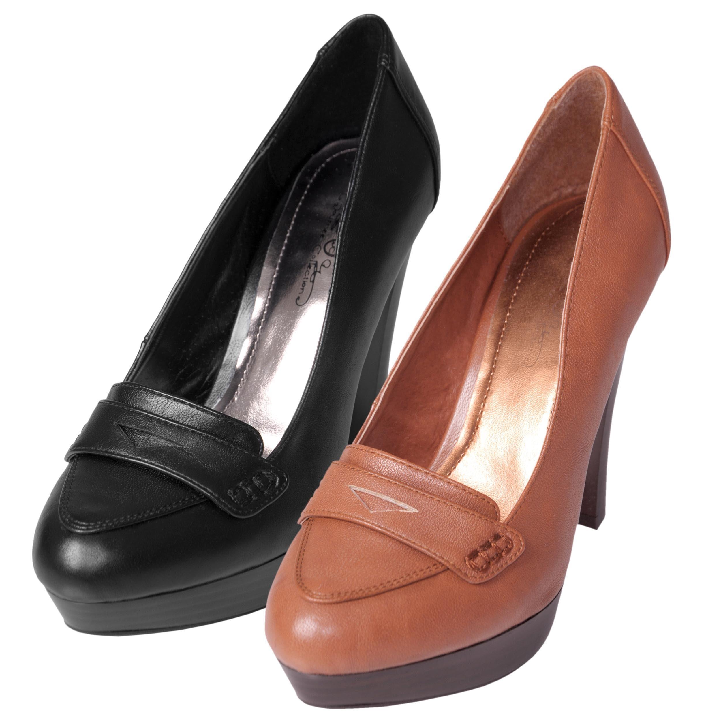 Journee Collection Women's 'Aurora-12' Heeled Loafers