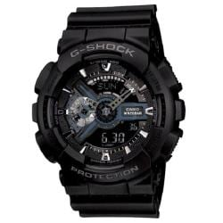 Casio Men's G-Shock 'XL Series' Analog-digital Black Watch