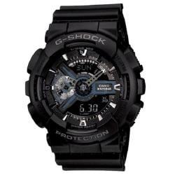 Casio Men's G-Shock 'XL Series' Analog-digital Black Watch - Thumbnail 0