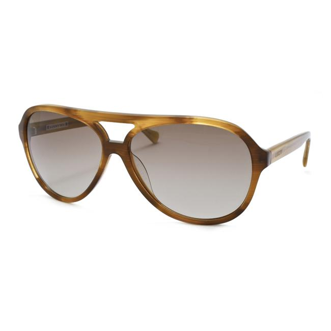 3a1772282197c Shop Lucky Brand Women s  Audio  Aviator Sunglasses - Free Shipping Today -  Overstock - 6087643