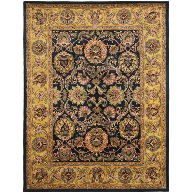 Shop Safavieh Handmade Delhi Navy Gold Wool Rug 7 6 Quot X