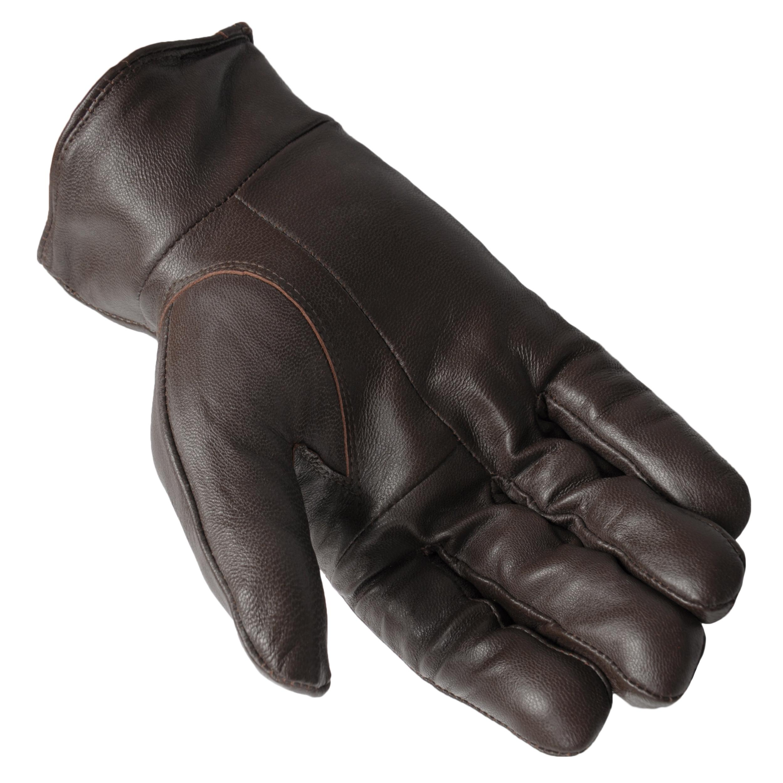 Boston Traveler Men's Genuine Leather Thinsulate Lined Gloves - Thumbnail 1