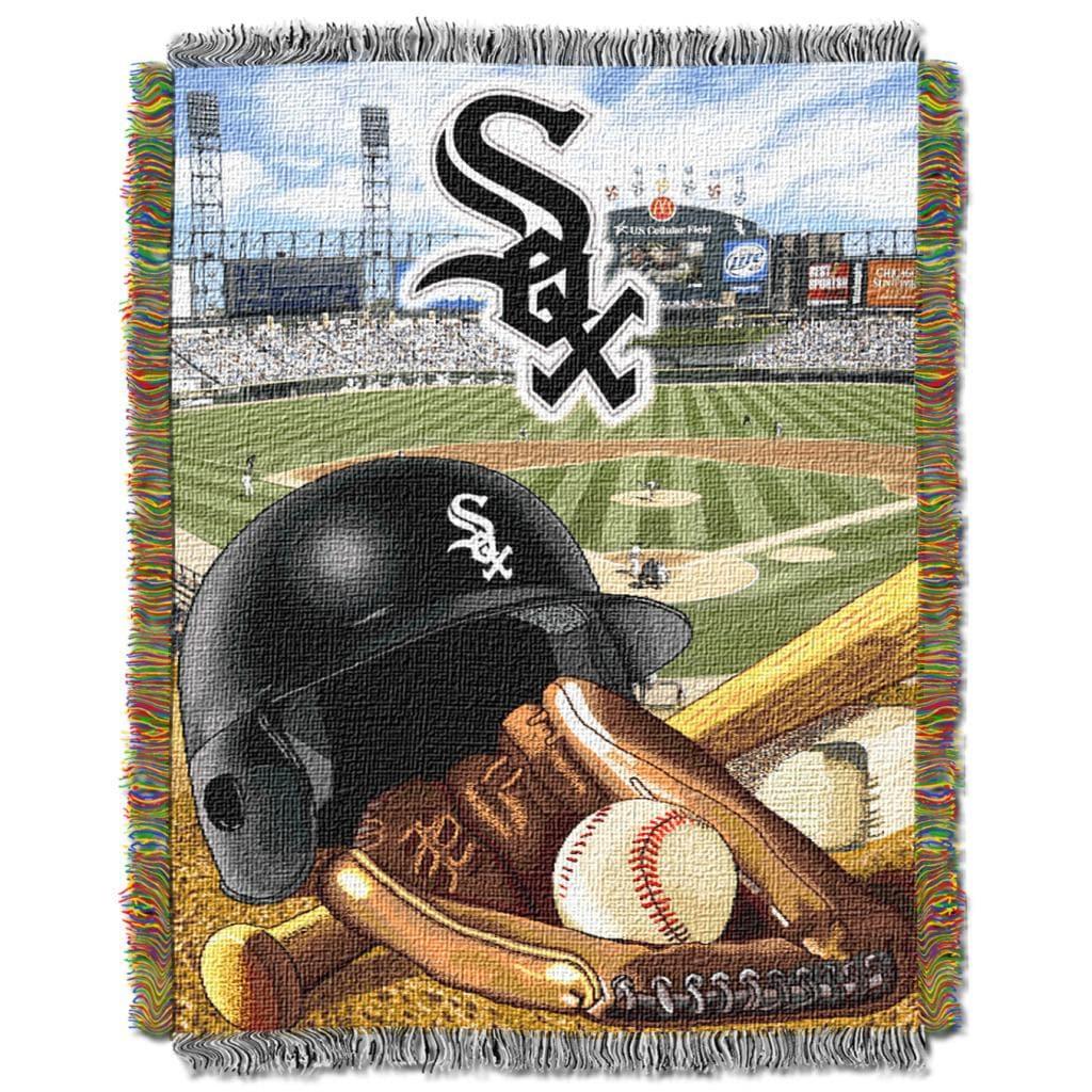 Northwest Chicago White Sox Woven Jacquard Acrylic Baby Blanket