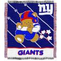 Northwest New York Giants Woven Jacquard Acrylic Baby Blanket