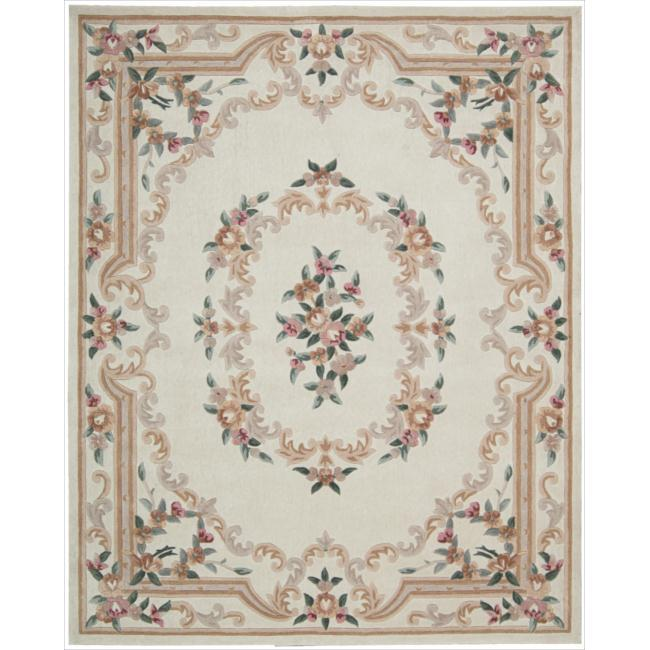 Nourison Hand-tufted Ivory Overland Street Rug (7'3 x 9'3)