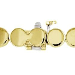 Miadora 14k Yellow Gold 1/2ct TDW Diamond Bracelet (G-H, SI1-SI2)