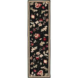 Hand-hooked Coolidge Wool Rug (2'3 x 8')