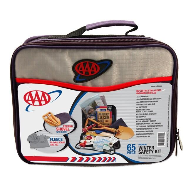 65-piece AAA Winter Safety Automotive Kit