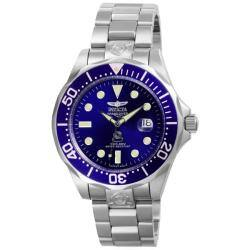 Invicta Men's Grand Diver Pro Stainless Steel Automatic Watch|https://ak1.ostkcdn.com/images/products/76/65/P13732158.jpg?impolicy=medium