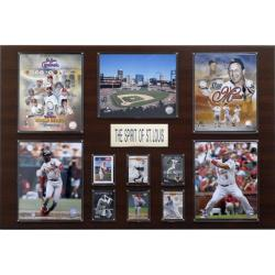 St. Louis Cardinals All-time Greats 24x36 Cherry Wood Plaque