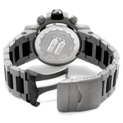 Invicta Men's Subaqua Grey Stainless Steel & Black Rubber Chrono Watch