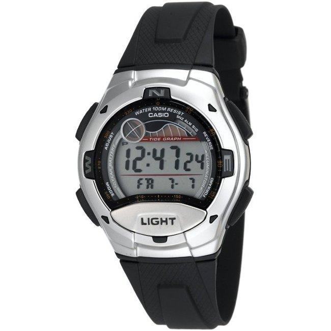 Casio Men's Moon Data Silver Case Digital Sport Watch (Si...