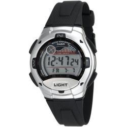 Casio Men's Moon Data Silver Case Digital Sport Watch