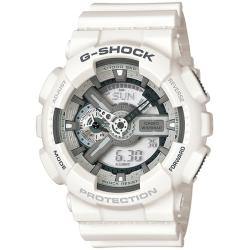 Casio Men's 'G-shock' Analog-digital White Resin Strap Watch