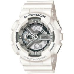 Casio Men's 'G-shock' Analog-digital White Resin Strap Watch
