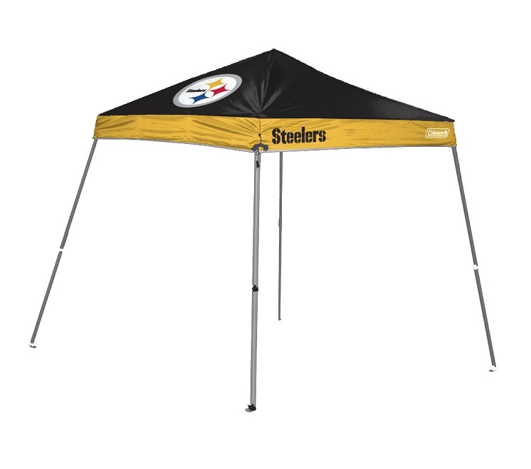 newest b4791 14efd Coleman Pittsburgh Steelers 10x10-foot Tailgate Canopy Tent Gazebo