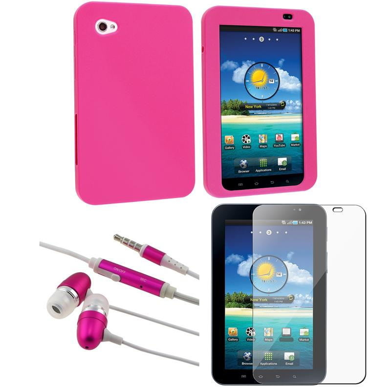 BasAcc Case/ Protector/ Headset for Samsung Galaxy Tab P1000 7-inch