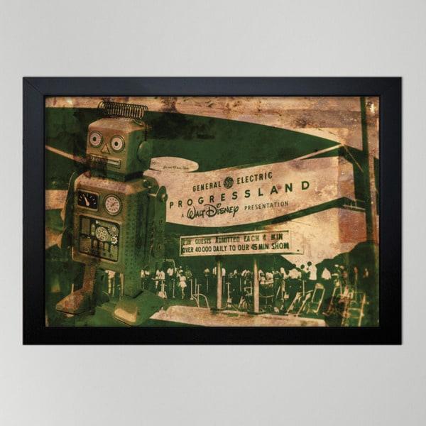 Oliver Gal 'Progressland' Canvas Print Art