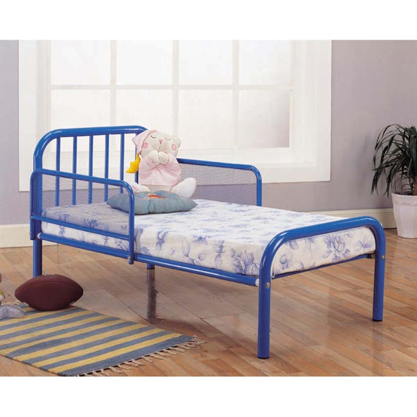 Blue Finish Toddler Bed
