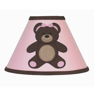 Sweet Jojo Designs Funky Zebra Purple Trim Lamp Shade