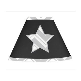 Sweet JoJo Designs Black and Grey Zig Zag Lamp Shade