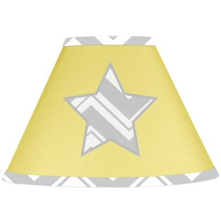 Sweet JoJo Designs Yellow Star Lamp Shade