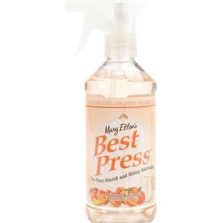 Mary Ellen's Best Press Clear Starch Alternative 16 Ounces-Peaches & Cream