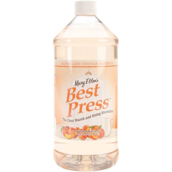 Mary Ellen's Best Press Refills 32 Ounces-Peaches & Cream
