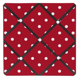 Sweet JoJo Designs Ladybug Fabric Memory Board