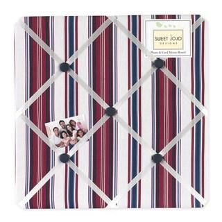 Sweet JoJo Designs Nautical Nights Fabric Memory Board