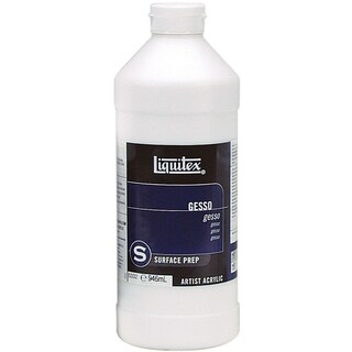 Liquitex Acrylic Gesso Surface Prep-White 32 Ounces