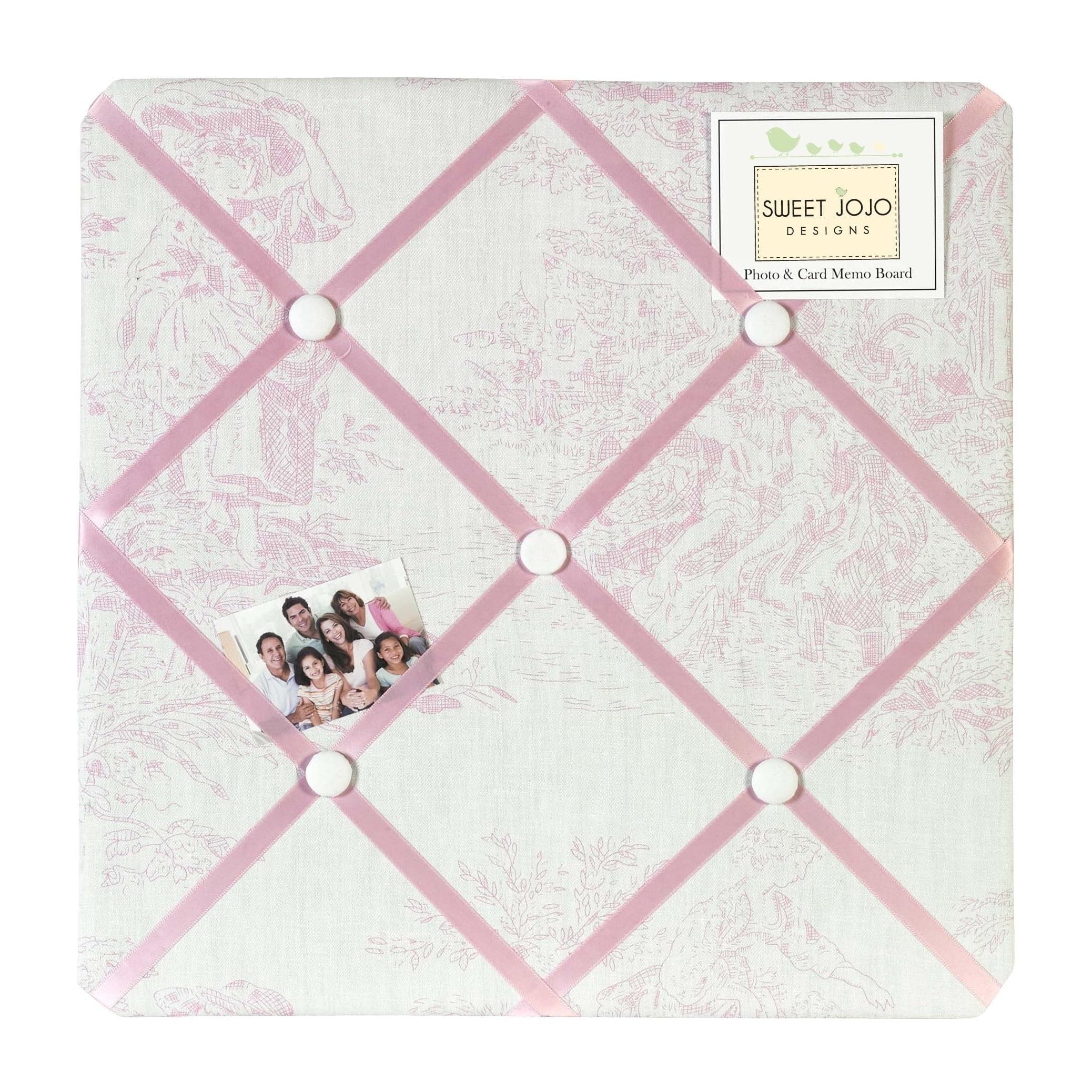 Sweet Jojo Designs Pink French Toile Bulletin Board Overstock 7600295