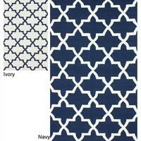 nuLOOM Handmade Marrakesh Trellis Wool Rug - 5' x 8'