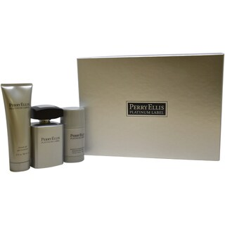 Perry Ellis Platinum Label Men's 3-piece Gift Set
