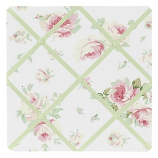 Sweet JoJo Designs Riley's Roses Fabric Bulletin Board