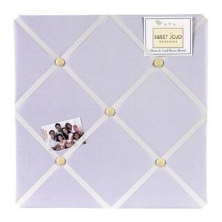 Sweet JoJo Designs Purple Dragonfly Dreams Bulletin Board