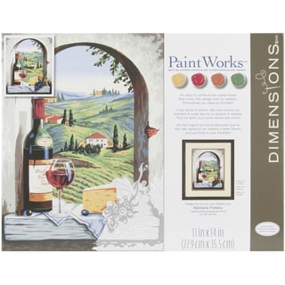 """Paint By Number Kit 11""""X14""""-Tuscan View"""