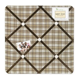 Sweet JoJo Designs Teddy Bear Fabric Bulletin Board